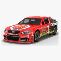 3D model chip ganassi racing nascar