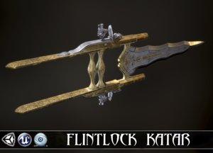 3D butterfly assassin - flintlock