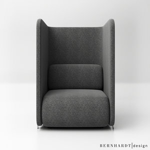 bernhardt design code sofa 3D model