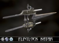 3D defender faith - flintlock model
