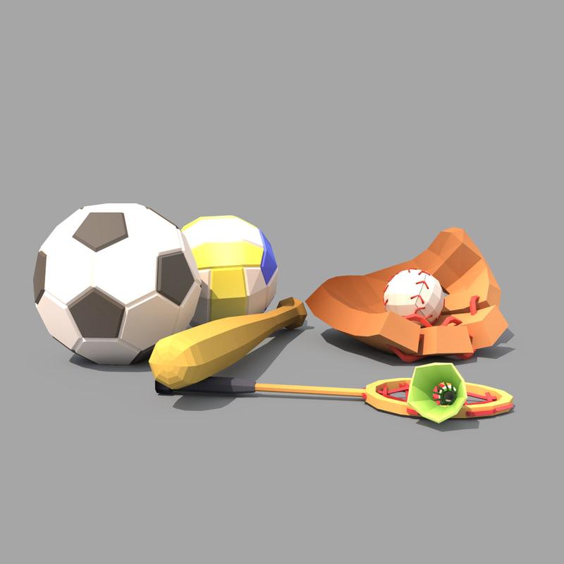 sport baseball 3D
