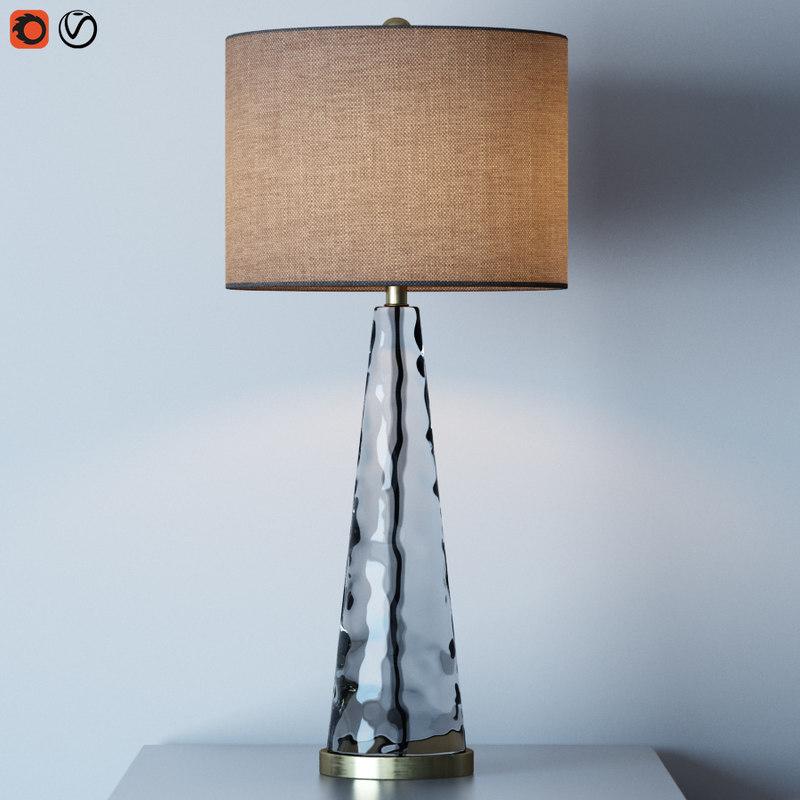 hydra table lamp 3D model