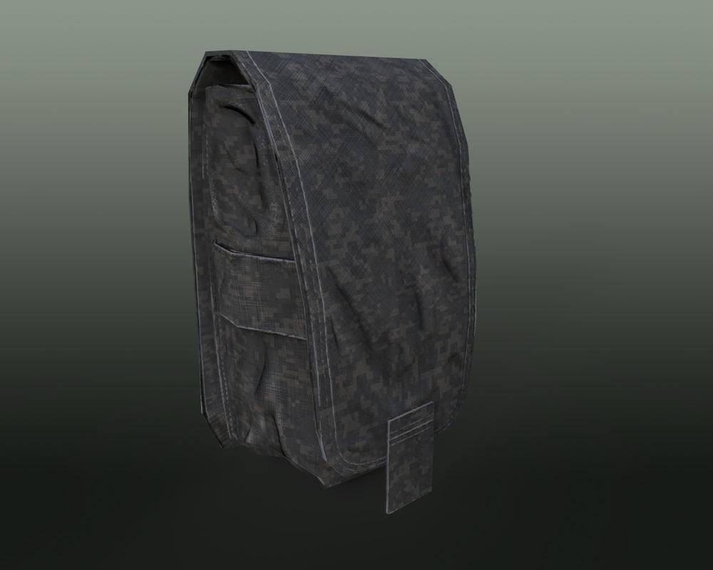 3D soldier bag