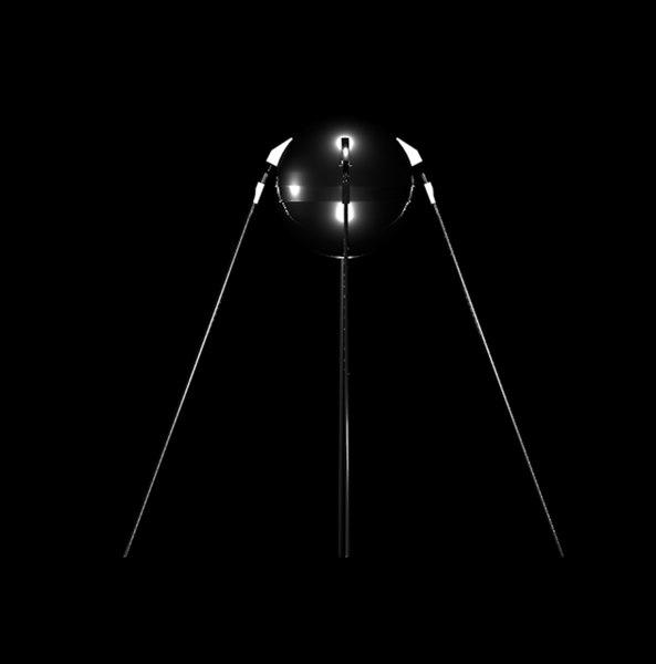 3D sputnik