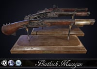 MACEGUN - Flintlock Pistol