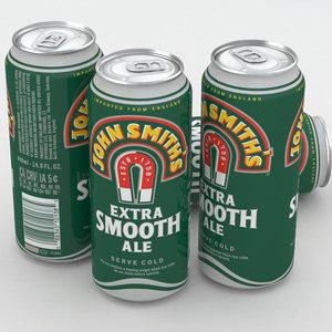 beer smooth 3D model