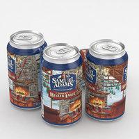 3D beer lager model
