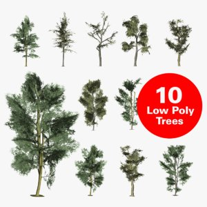 3D trees unity package