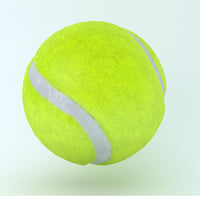 icon ball tennis 3D model
