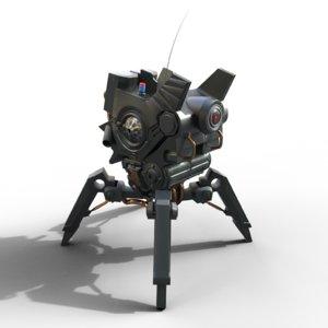 sci fi walker model