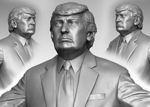 trump hi polys 3D model