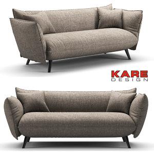 sofa kare 3D model