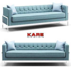 3D sofa kare