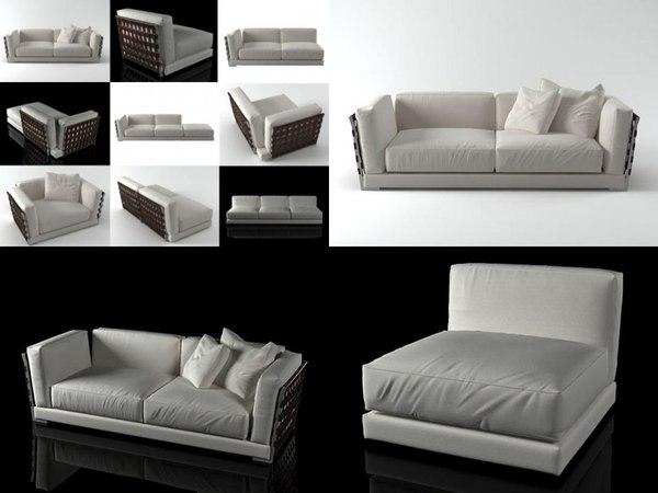 3D model cestone flexform