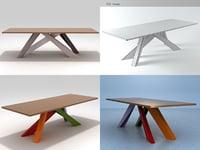 big table 3D model