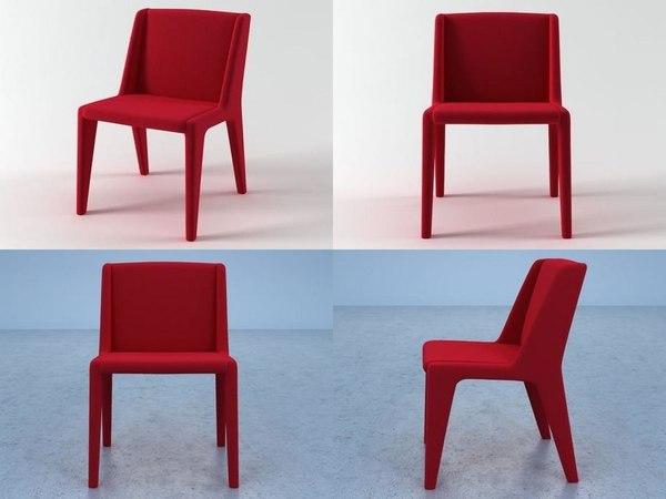 delta chair 3D model