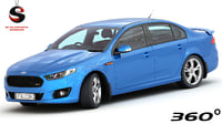 Ford Falcon 2015 XR8 (Low Interior)