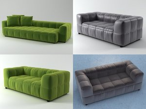 3D strips sofa