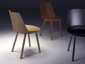 3D model ch04 houdini chair