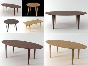 cherner tables 3D model