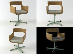 xxl armchair 3D model