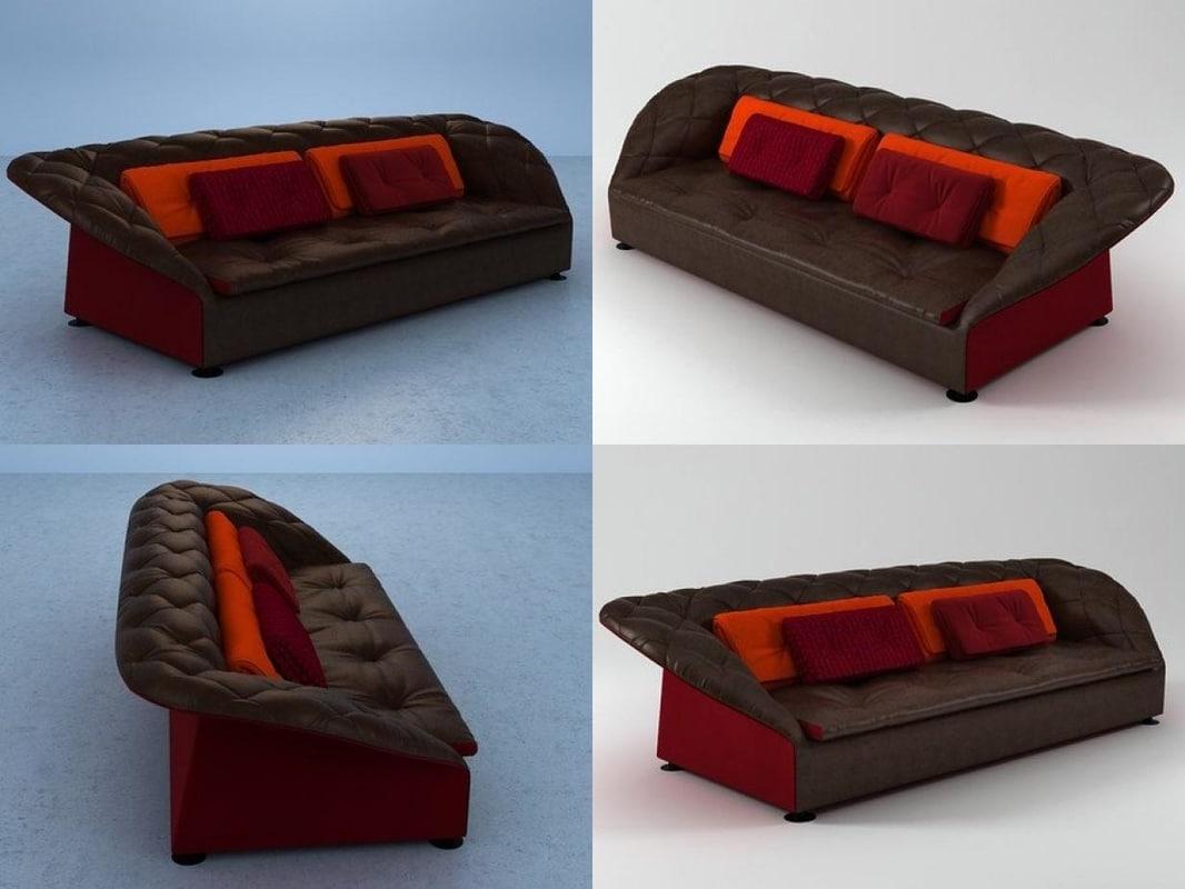 bohemian sofa 3D