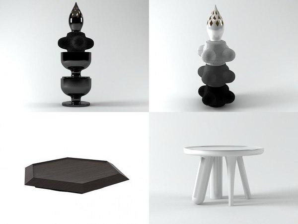 3D elements moooi model