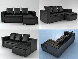 mezzo sofa 3D model