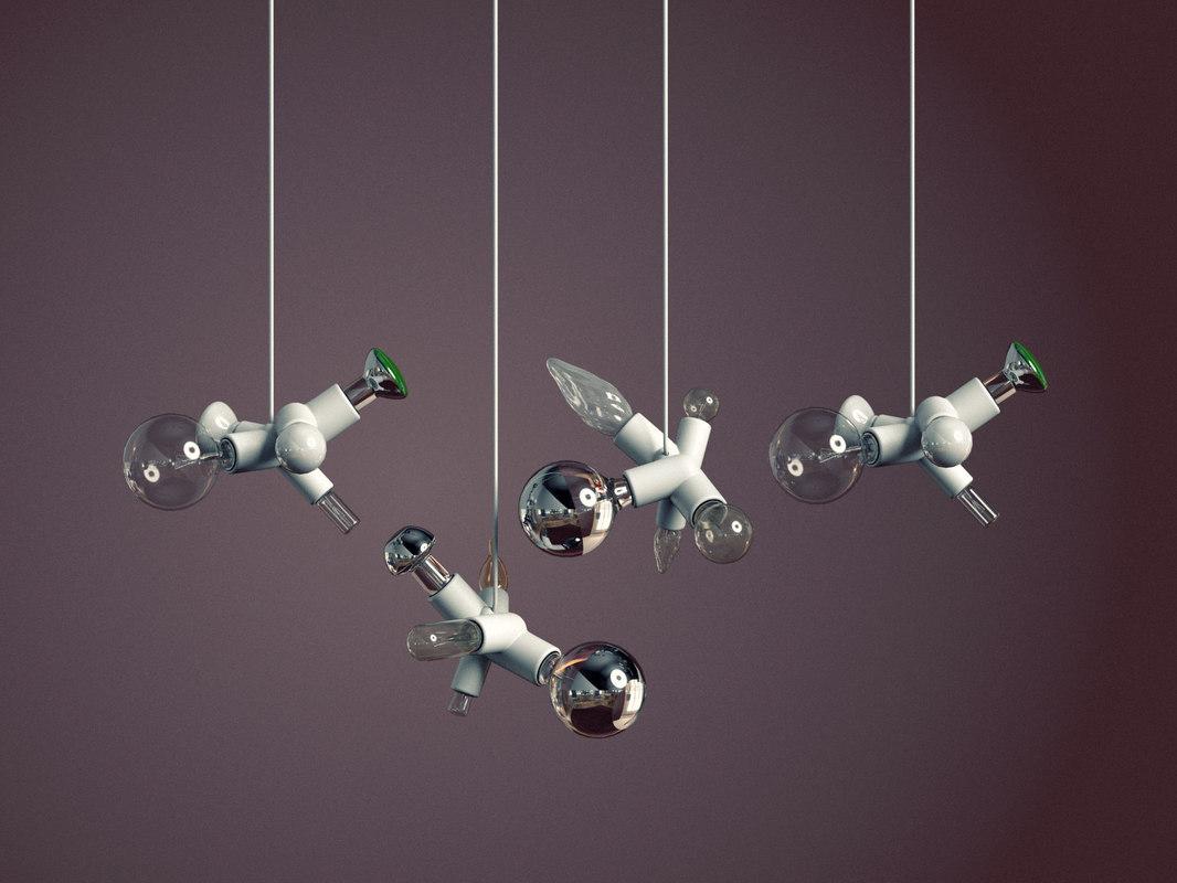 clusterlamp moooi model