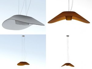 fly-fly foscarini 3D