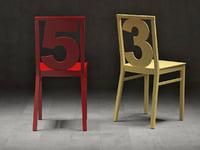 3D chairs n