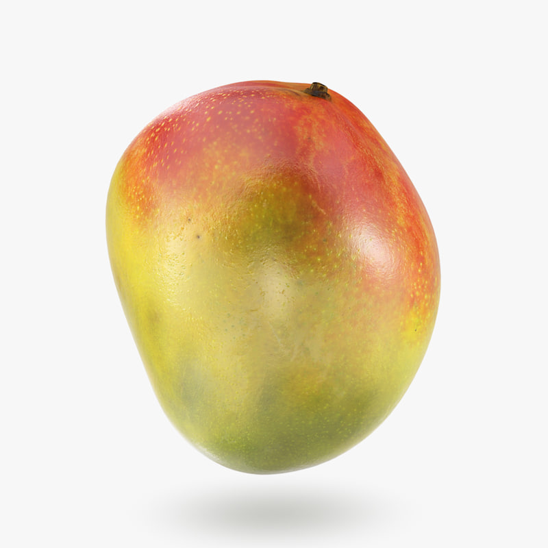 3D model mango fruit decoration