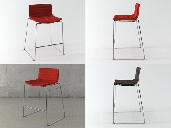 3D catifa 46 stool sled