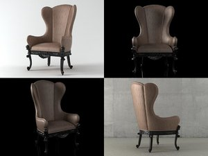man 18c armchair model