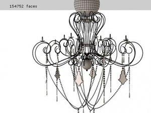 caprice deco lamp 3D model