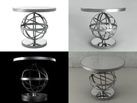 3D sfera table model