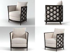 a-80 barrel lounge chair 3D