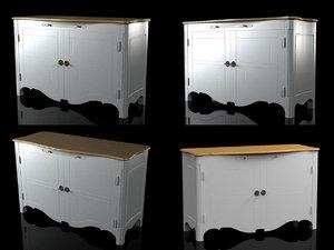 volubilis sideboard 3D model