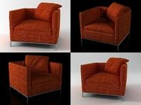 3D george armchair