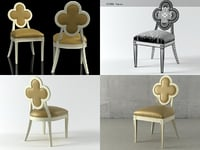 3D model alexandra chair