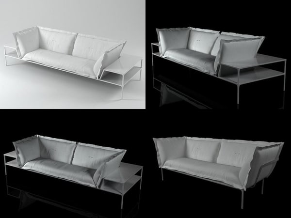 yale sofa 3D model