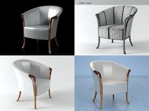 64230 armchair 3D model