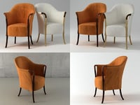 3D 63220 armchair model