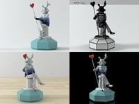 lover lladro 3D model