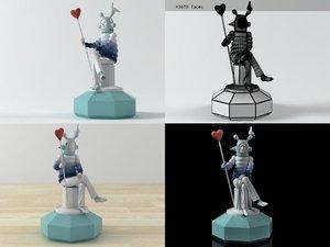 lover lladro 3D model