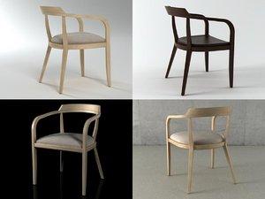 impromptu chair 3D model