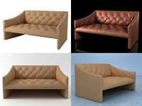 3D burnham sofa