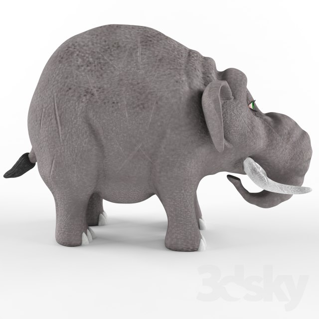 children s elephant model