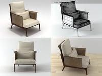 happy hour armchair 3D