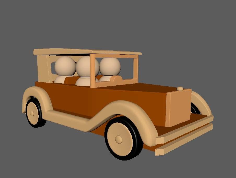 car toy 3 d 3D model